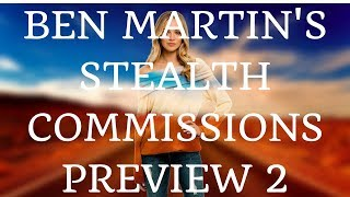 Ben Martin's Stealth Commissions Preview 2 - The Sales Page
