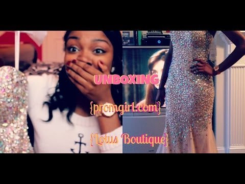 Prom Dress Unboxing Spring Clothes Haul Promgirl Com