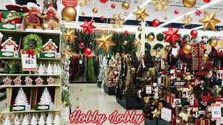 HOBBY LOBBY 🔴 CHRISTMAS 🌲 SHOP WITH ME 🔴 BARGAIN BEAUTY