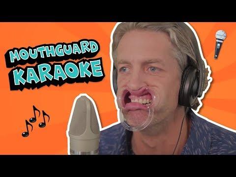 MOUTHGUARD KARAOKE // Mouthguard Music Challenge
