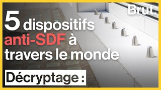 5 dispositifs anti-SDF à travers le monde