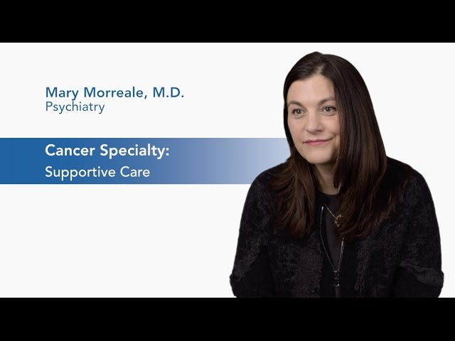 Meet Dr. Mary Morreale - Supportive Oncology video thumbnail