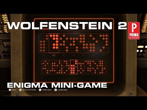 Wolfenstein 2: The New Colossus - Enigma Mini Game