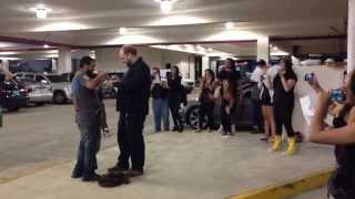 Flashmob Proposal (filmed by Pimpo)