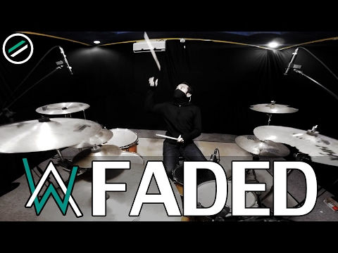 Faded - Alan Walker - Drum Cover - Ixora (Wayan)