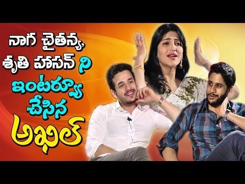Shruti Hassan, Akhil, Naga Chaitanya Chit Chat about Premam Movie || NTV