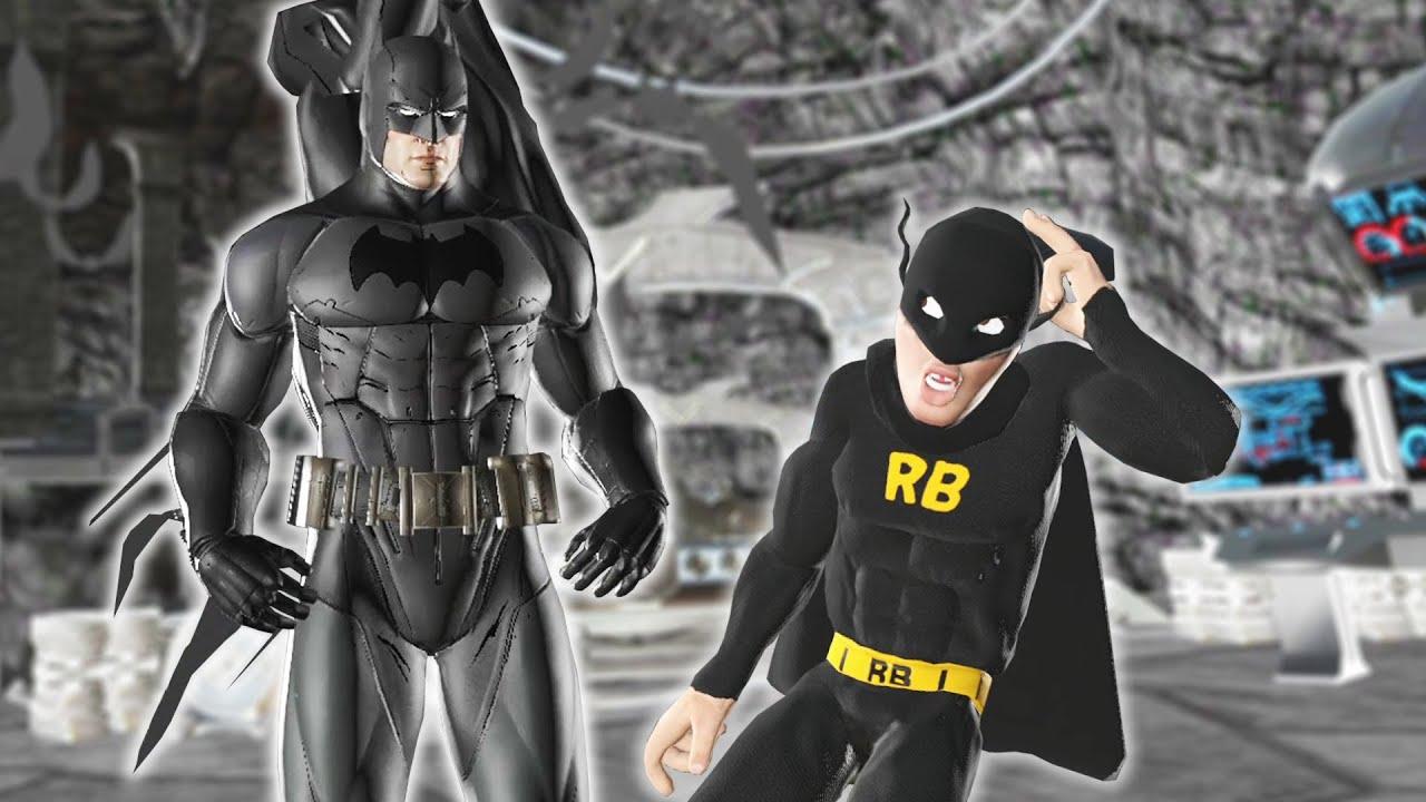 scuffed batman