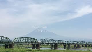 2019/5/26 185系Y160記念列車を富士山と