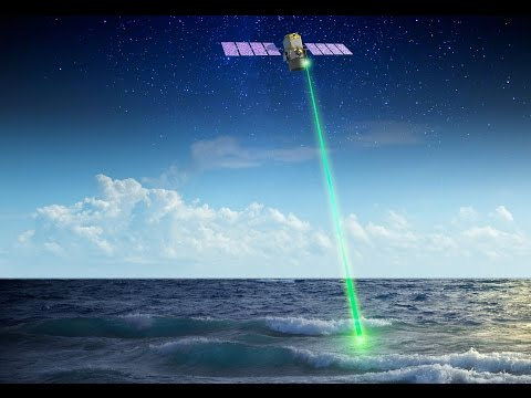 NASA uses space laser to study polar ocean plants