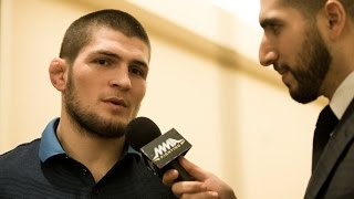 Khabib Nurmagomedov: Anthony Pettis Is 'Scared' of Me Video