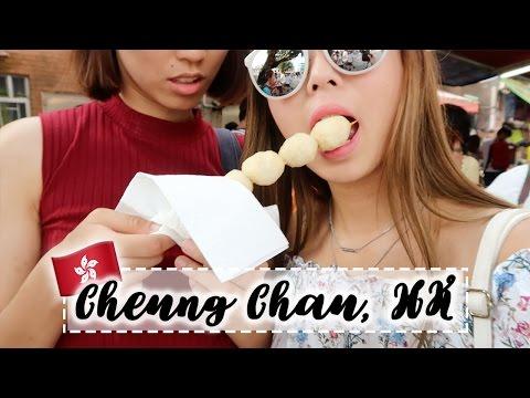 Munching My Way Through Cheung Chau Island | HONG KONG VLOG