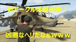 GTA5 追加ビークルのハイドラ・ワルキューレ・サベージ・インサージェント体験試乗!【強盗アップデート】