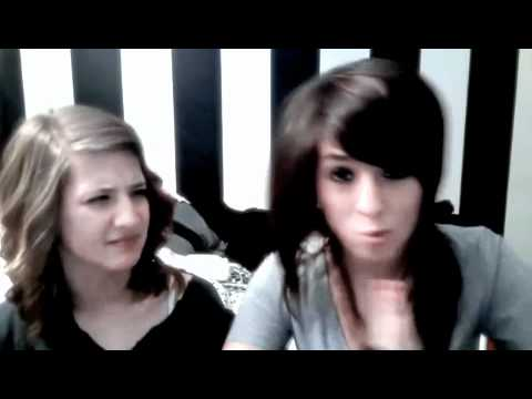 'I'm Eating Your Pie' - Above All That Is Random 2 - Christina Grimmie & Sarah