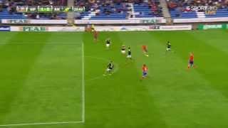 Jordan Larsson (Henrik Larsson's son) scored a stunning goal against AIK *VINE EDITION*