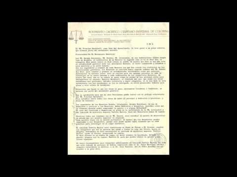 Documento Inédito del