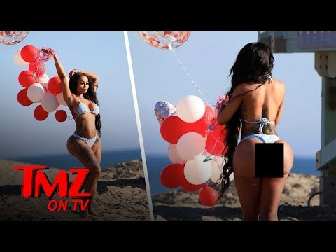 Blac Chyna And Her Booty Are Back! | TMZ TV