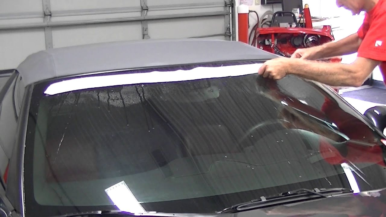 Mid America Motorworks >> 2005-2013 Corvette Windshield Decal - YouTube