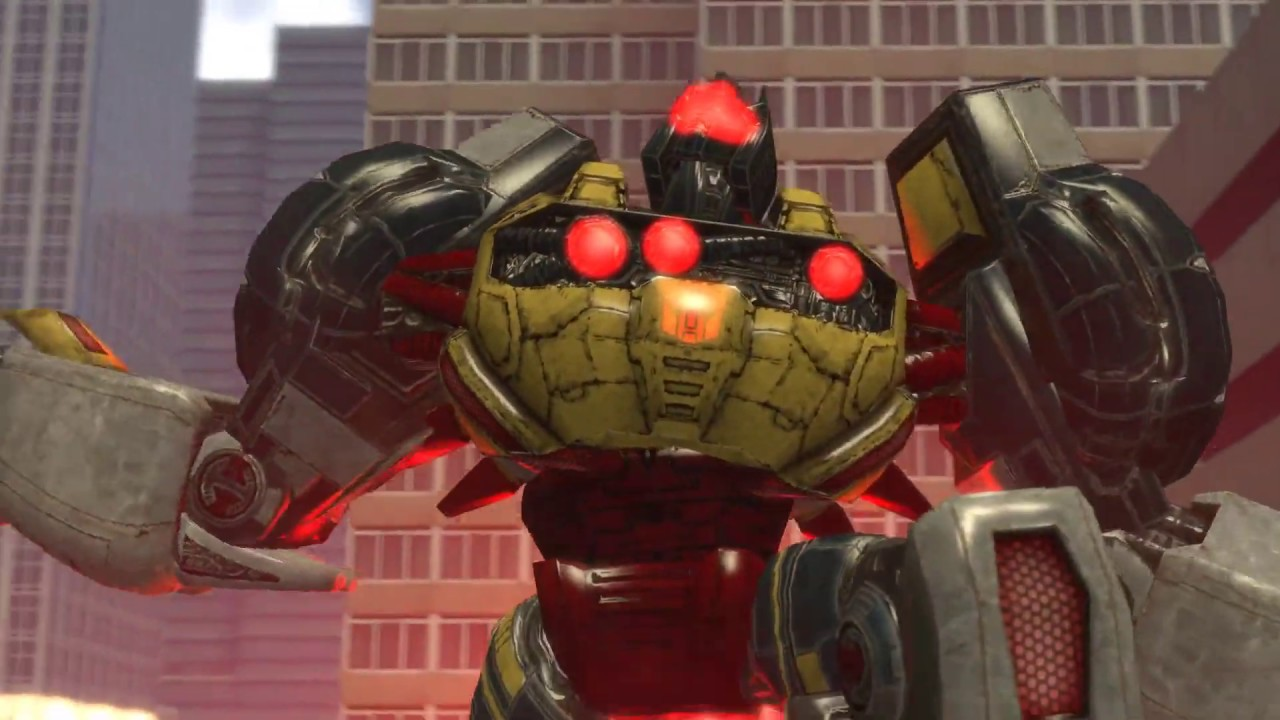 SFM - Grimlock Vs Bruticus! Transformers: Fall of Cybertron Fight Scene Animation!