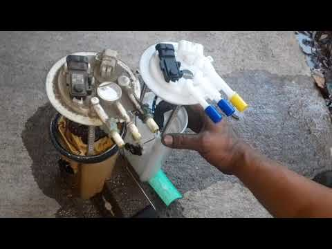 How to replace a fuel pump on a 2003 Buick Regal 3800 engine