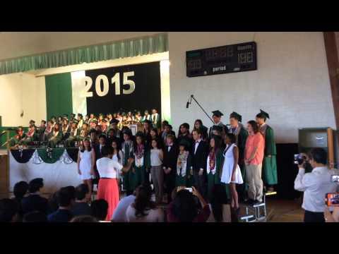 Choir at Graduation Rio Lindo Adventist Academy