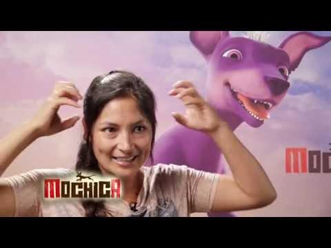 Cinema Perú - Grabación de cinta animada Mochica