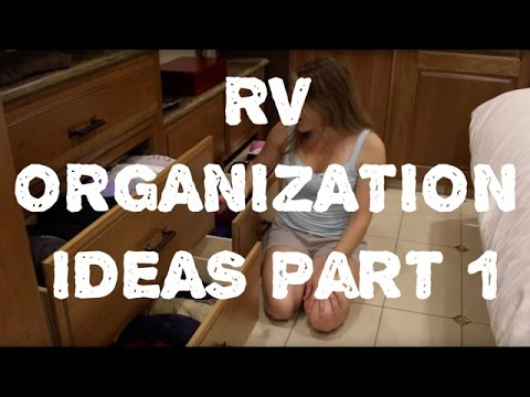 Space Saving & Organization Ideas For Small Spaces - RVs & Mobile Homes