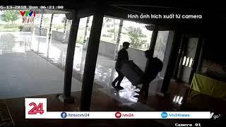 Clip độc: Hai thanh niên ngang nhiên khiêng trộm hòm công đức - Tin Tức VTV24