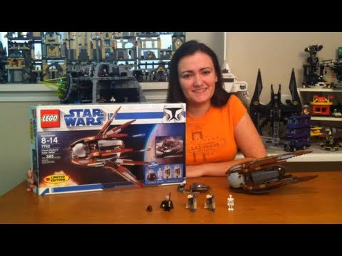 LEGO 7752 Count Dooku's Solar Sailer LEGO Star Wars Review