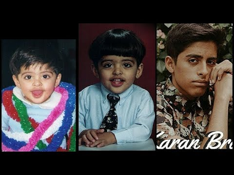 Karan Brar From Baby To Teenager
