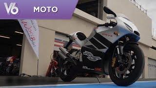 L'unique SRC 475 V3 2-temps - Les essais moto de V6