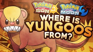 Pokemon Sun and Moon Theory: Where is Yungoos From?