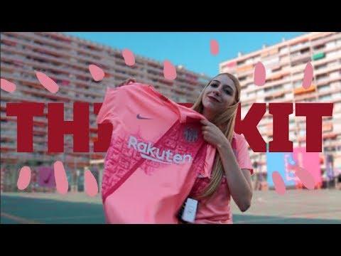size 40 d5cca f7caa There's a city on the new FC Barcelona's third kit VLOG