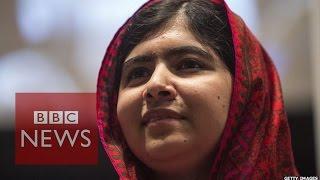Malala & Kailash Satyarthi win Nobel Peace prize - BBC News