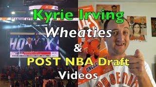 Kyrie Irving Wheaties Box & Post 2018 NBA Draft Reactions (Feat.Mojo99)