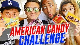 American Candy Challenge   Mit Paola, Sascha & Simon Desue