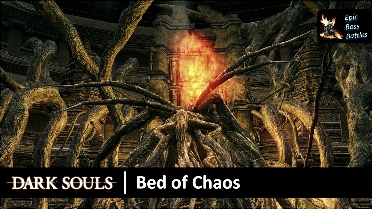 Nice Dark Souls   Bed Of Chaos Boss Battle [HD]   YouTube
