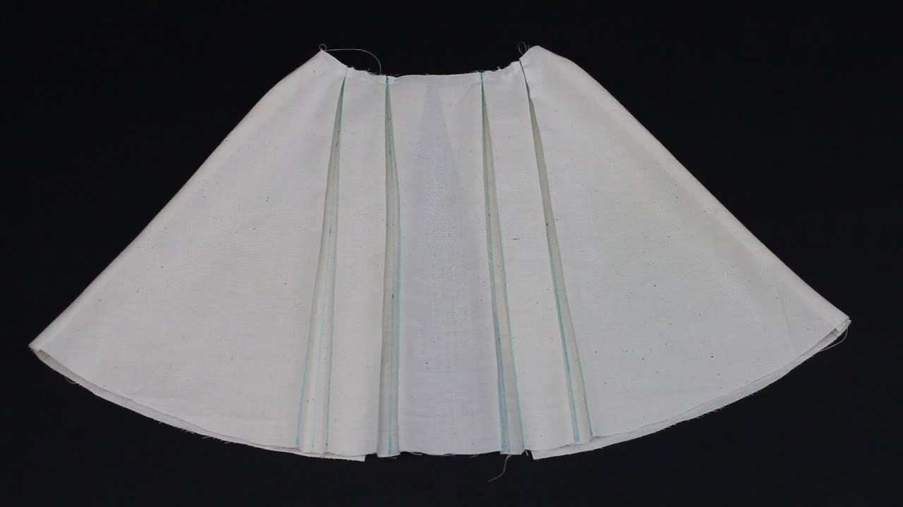 How To Sew A Pleat Youtube