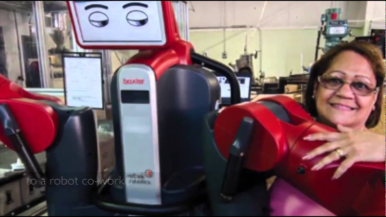 The Social Impact of a Robot Co-Worker in Industrial Settings