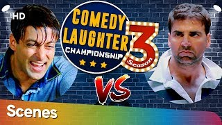 Salman Khan VS Akshay Kumar Comedy Laughter Championship Season 03 -Shemaroo Bollywood Comedy