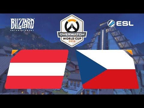 Overwatch - Austria vs. Czech Republic - Overwatch World Cup - Group F