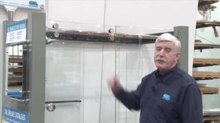 Ho to choose and install stainless steel shower door system