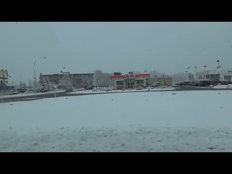 Winter Has Come Back To Central Alberta Canada (Daily Vlog)