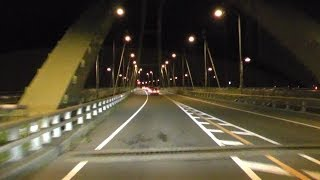 【車載動画】 国道145 八ッ場バイパス [吾妻渓谷入口 ⇒ 久々戸(約11km)]