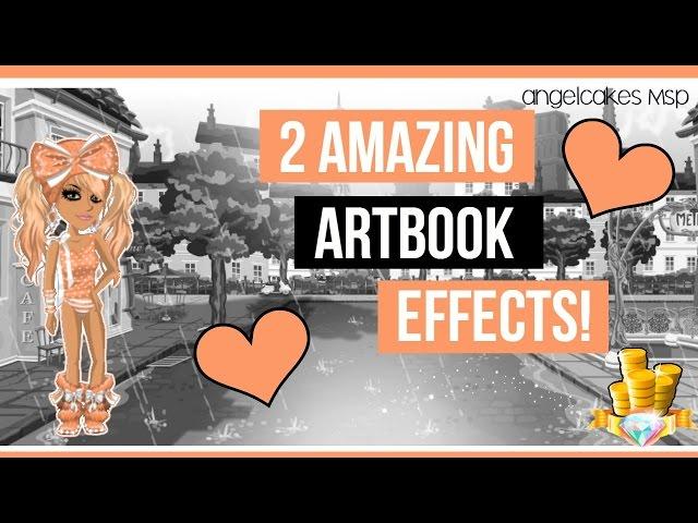 MSP- 2 AMAZING Artbook Effects ?