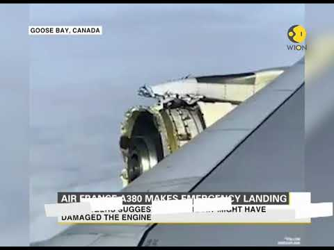 Air France A380 makes emergency landing