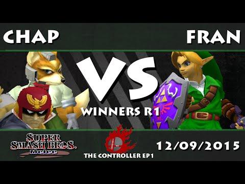 The Controller EP1 - Chap (Fox, C. Falcon) Vs. Fran (Link) - SSBM Winners R1