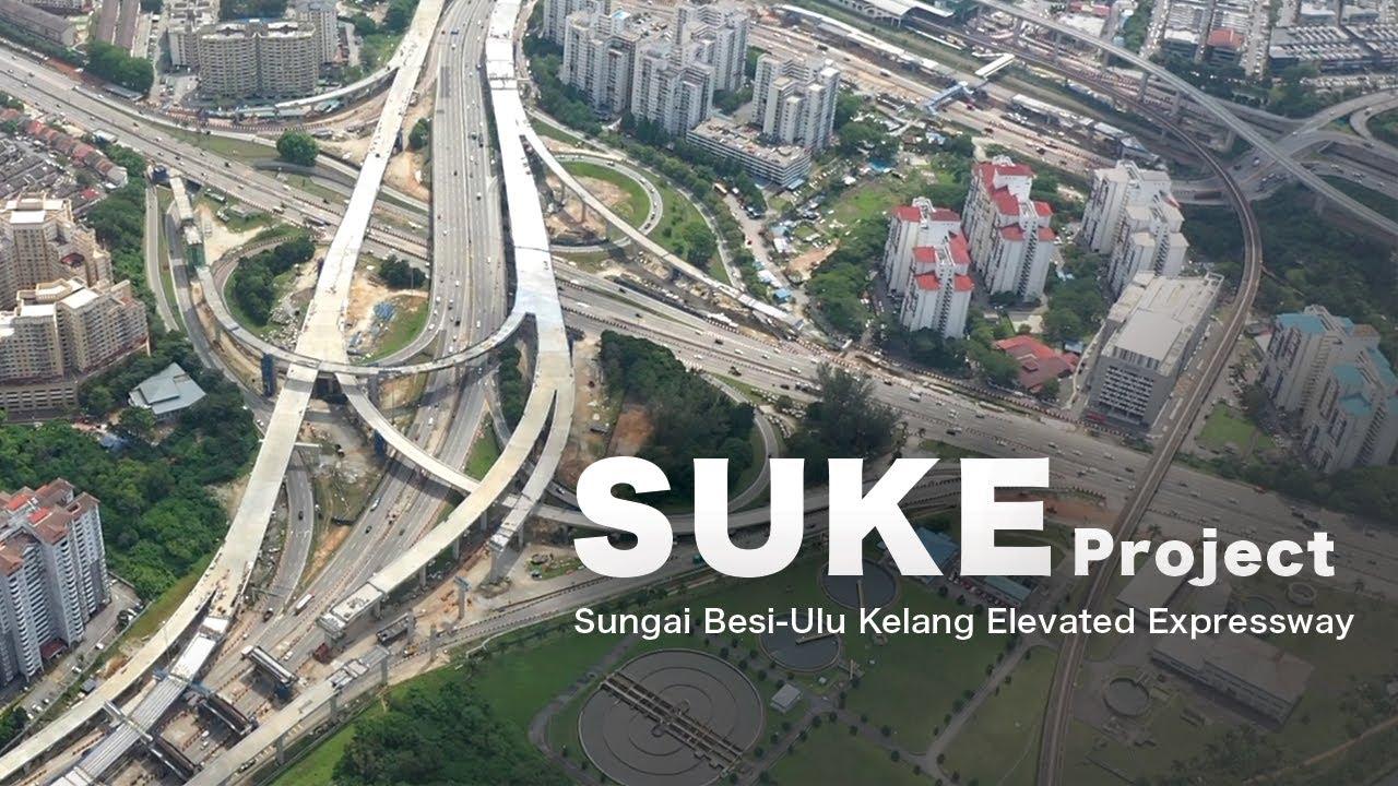 Download SUKE Project Kuala Lumpur - Sungai Besi-Ulu Kelang Elevated Expressway