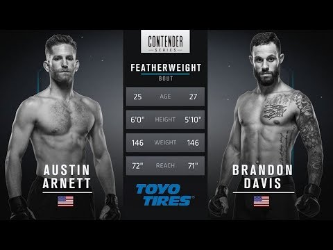 FREE FIGHT | Davis Wins Incredible Fight | DWTNCS Week 4 Contract Winner