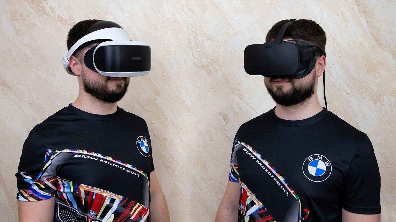 Шлем виртуальной реальности для PS4 - YouTube