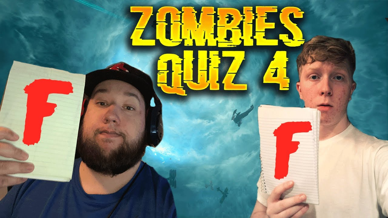Hardest Cod Zombies Quiz Ever 4 Ft Tim Hansen Waw Bo4 Youtube